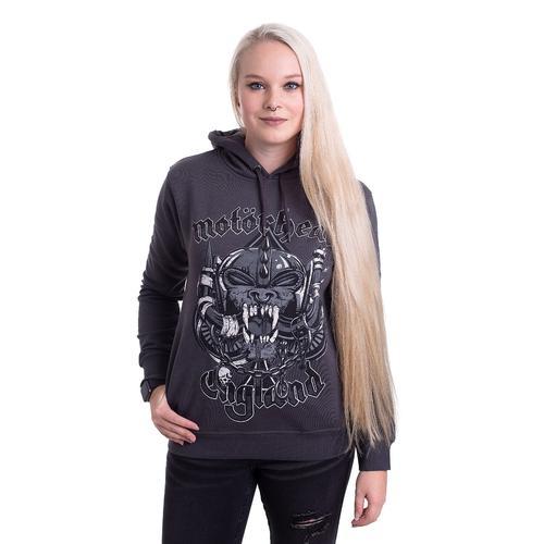 Motörhead - Snaggletooth Crest Slate - Hoodies
