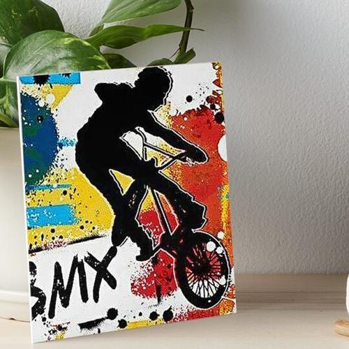 Wandfarbe Bmx Art Galeriedruck