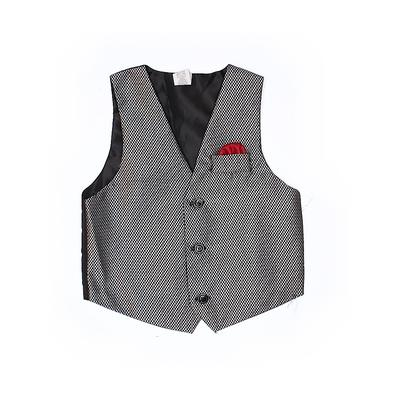 Tuxedo Vest: Gray Jackets & Outerwear - Size 6