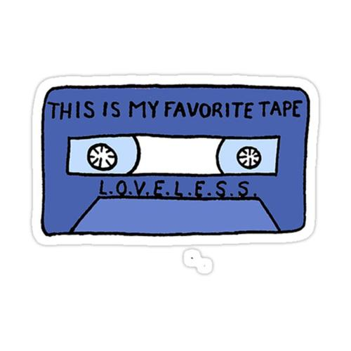 Favorite Tape Sticker