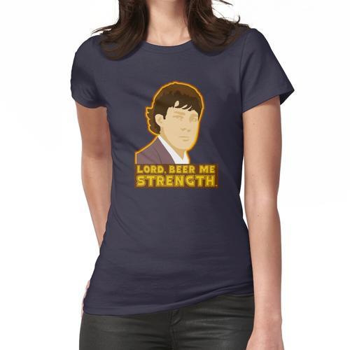 Herr, bier mich Stärke Frauen T-Shirt