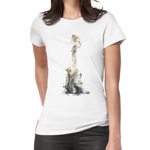 Blues Gitarre # Gitarre # Musik Frauen T-Shirt