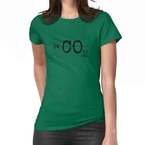 CO2 reduzieren Frauen T-Shirt