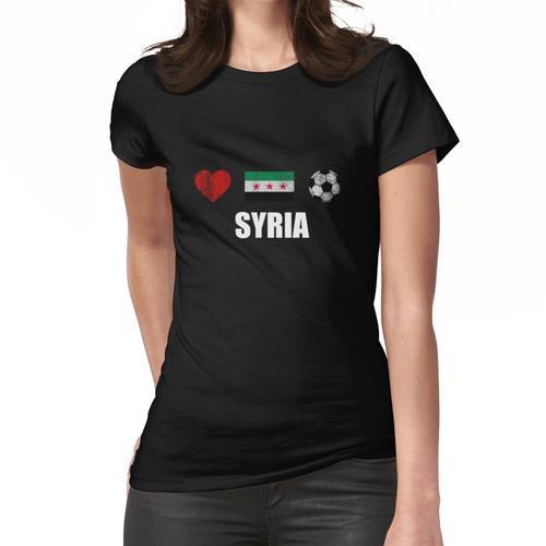 Syrien Fußballtrikot - Syrien Fußballtrikot Frauen T-Shirt