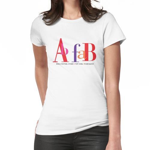 Ab Fab - Hollandpark Frauen T-Shirt