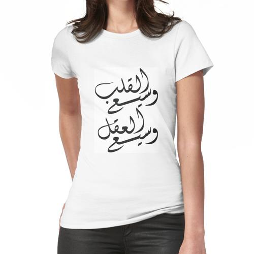 Offener Geist Offenes Herz Frauen T-Shirt