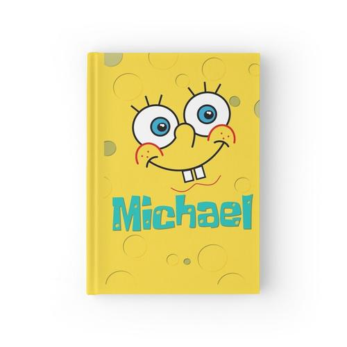 SpongeBob personalisierter Name Michael Notizbuch