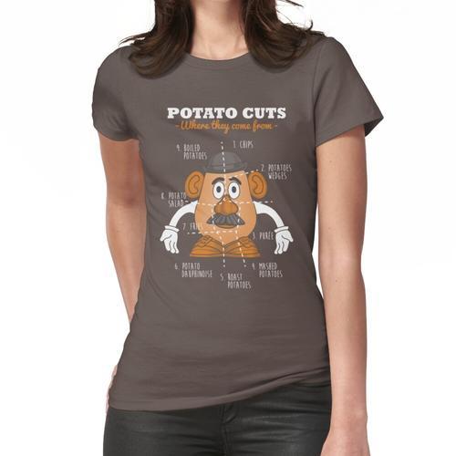 Kartoffelschnitte Frauen T-Shirt