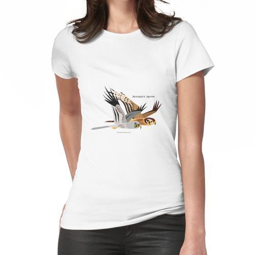Montagus Harrier-Karikatur Frauen T-Shirt