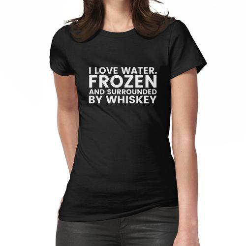 Lustiges Whisky-Trinker-Hemd - Bourbon-Alkohol-Whisky-Scotch Frauen T-Shirt