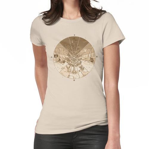 Zeitraffer Frauen T-Shirt