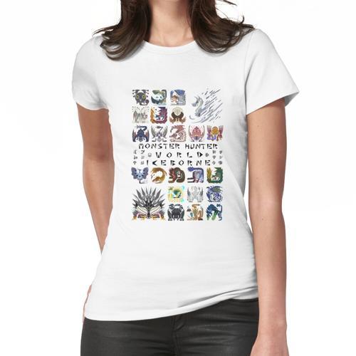 Monster Hunter World: Eisgeboren Frauen T-Shirt