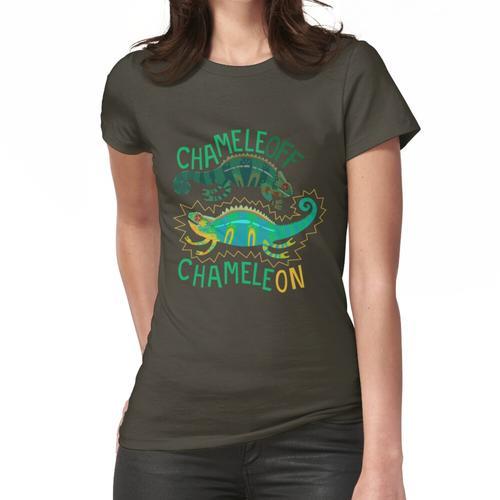 Chamäleon, Chamäleon Frauen T-Shirt