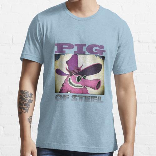 das Schwein aus Stahl Essential T-Shirt