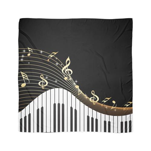 Elfenbeinschlüssel Klaviermusik Tuch