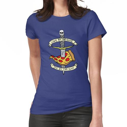 Lebe mit der Scheibe Stirb an der Scheibe Frauen T-Shirt
