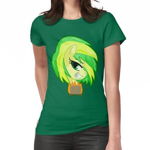 Holz Toaster / Glasur Frauen T-Shirt