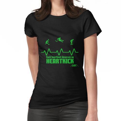 Herzschlag Trottinette Frauen T-Shirt