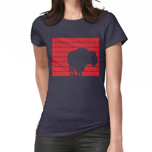 Büffel Büffel Büffel Büffel Büffel Büffel Büffel Büffel. (Rot) Frauen T-Shirt