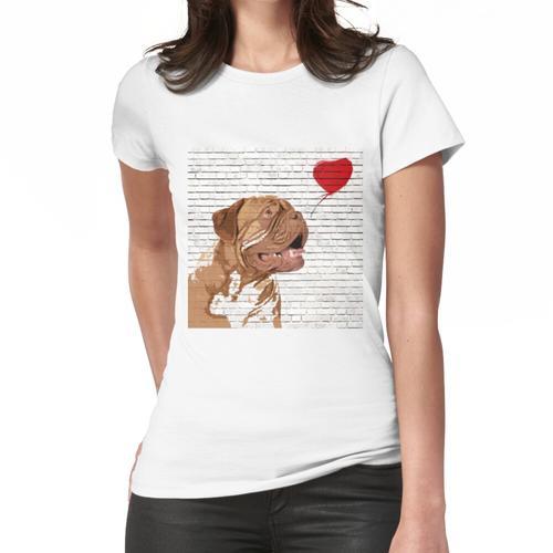 Bordeaux-Stil der Dogue De Bordeaux Frauen T-Shirt