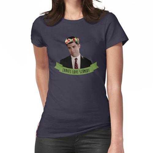 Schmidt | Damen lieben Schmidt Frauen T-Shirt