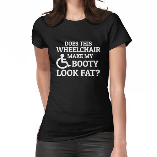Rollstuhl Humor Rollifahrer Witze Behinderung Frauen T-Shirt