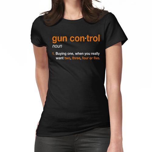 Pistolensteuerung: Definition der Pistolensteuerung - Lustige Pistolensteuerung für Frauen T-Shirt