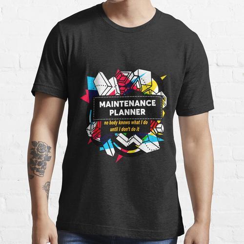 WARTUNGSPLANER Essential T-Shirt