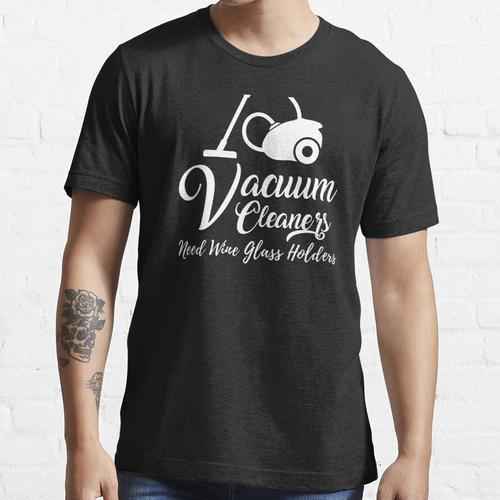 Funny Staubsauger OCD Reinigung Staubsaugen Essential T-Shirt