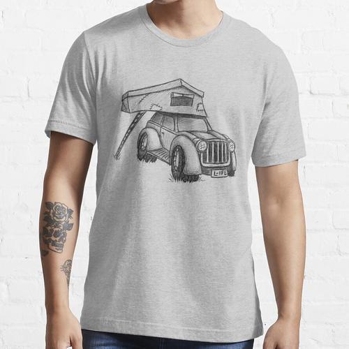 Dachzelt Offroad Camper Karre Essential T-Shirt