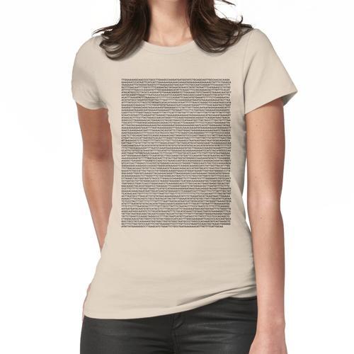 Hämoglobin-DNA-Sequenz Frauen T-Shirt