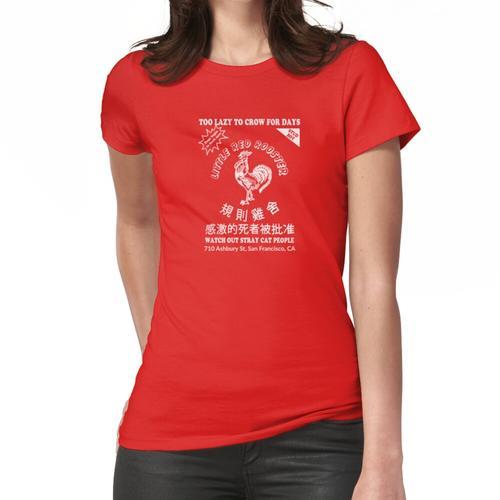 Red Rooster Hot Sauce Frauen T-Shirt