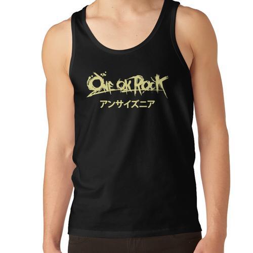 Ein Ok Rock Tulisan Japan Unisex-Tanktop
