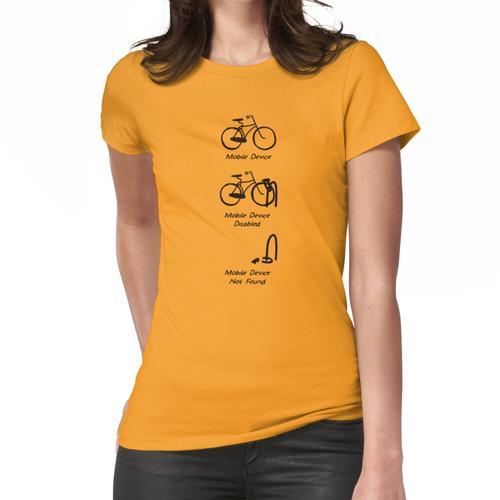 Mobilgerät Frauen T-Shirt