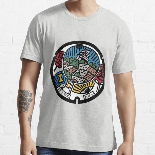 Marugame Abflussdeckel - Japan Essential T-Shirt