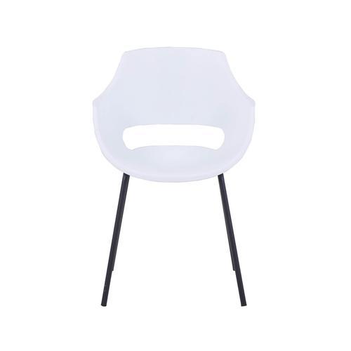 SIT Armlehnstuhl, 2er-Set Kunststoff 2459-10 / weiss