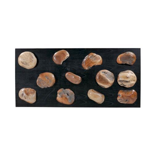 SIT Romanteaka Wand-Deko Stone 7996-49 / B 160 x H 70 x T 7 cm
