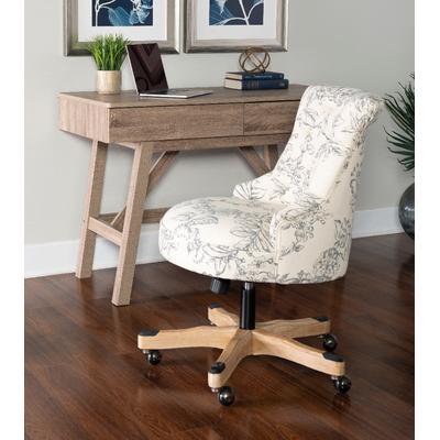 Sinclair Floral Office Chair - Linon OC106FL01