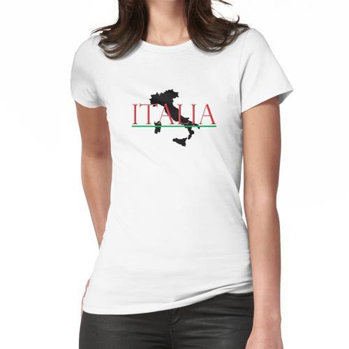 Italien: Italienischer Stiefel Frauen T-Shirt