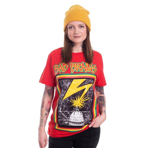 Bad Brains - Bad Brains Red - - T-Shirts