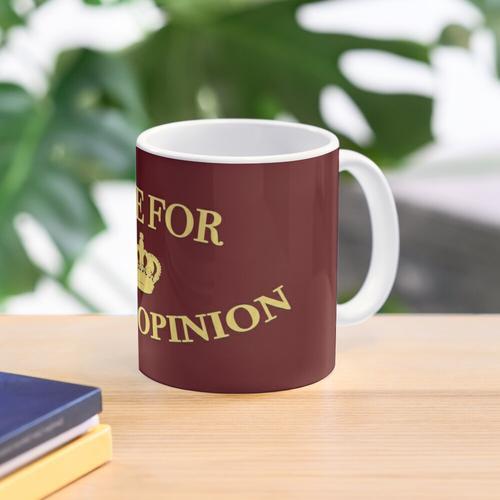 Time for Gina's Opinion Mug