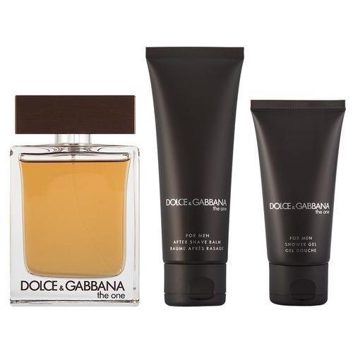 Dolce & Gabbana The One for Men EDT Geschenkset EDT 100 ml + 75 ml Aftershave Balm + 50 ml Duschgel