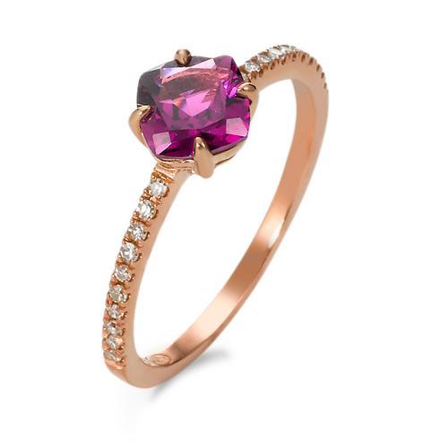 Ring Gold 375 mit Diamanten