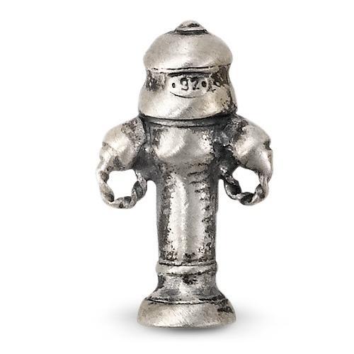 Anhänger Silber patiniert Hydrant