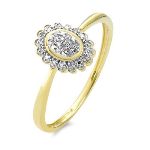 Ring Gold 375 Diamanten