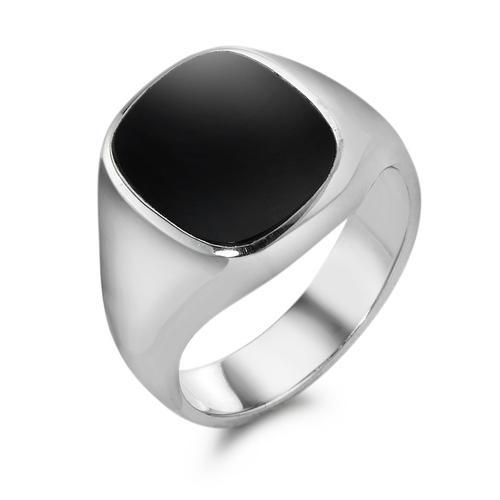 Ring für Herren mit Onyx
