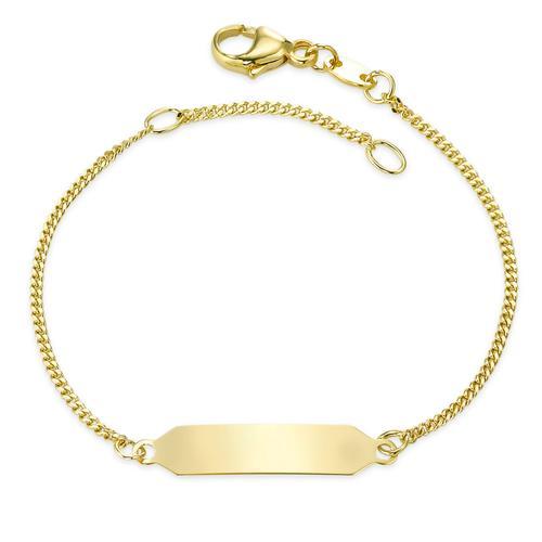 Identitäts-Armband Gold 750