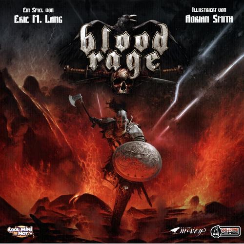 Asmodée Blood Rage, Gesellschaftsspiel