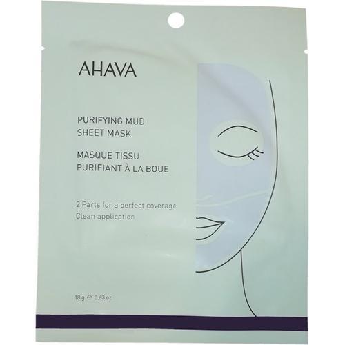 Ahava Time to Clear Purifying Mud Sheet Mask 1 Stk. Tuchmaske
