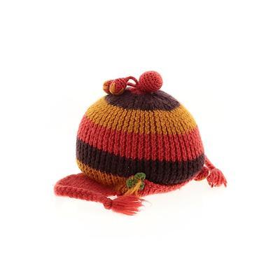 Assorted Brands Hat: Orange Stri...
